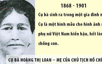 Cụ Bà Hoàng Thị Loan - Mẹ của chủ tịch Hồ Chí Minh vĩ đại