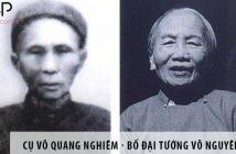 Cụ Võ Quang Nghiêm - Bố Đại tướng Võ Nguyên Giáp