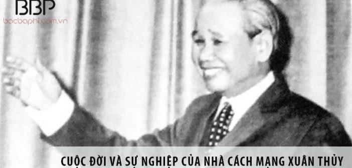 Cuộc đời và sự nghiệp ngoại giao của nhà cách mạng Xuân Thủy