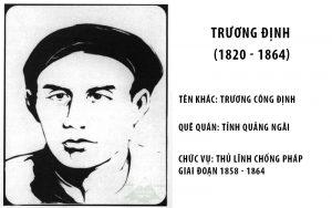 Đôi nét về Trương Định