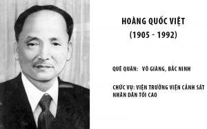 Vài nét về Hoàng Quốc Việt