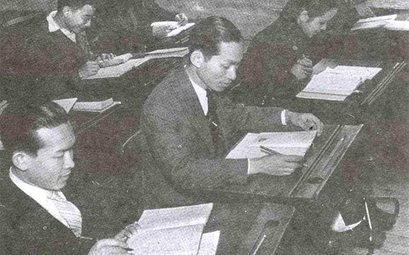 BS. Đặng Văn Ngữ trong thời gian học tại Đông Kinh học xá – Nhật Bản (1943 – 1949)