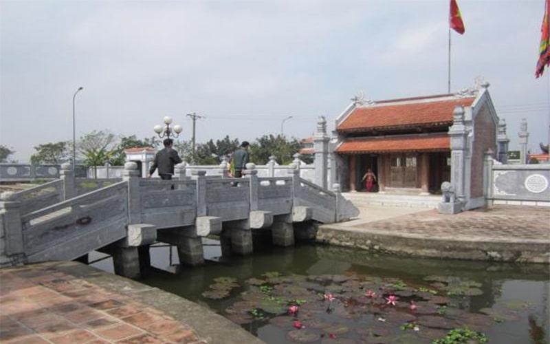 Đền thờ Khúc Thừa Dụ tại Ninh Giang, Hải Dương