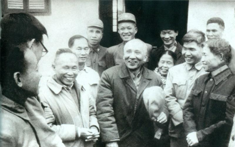 Nguyễn Lương Bằng về thăm quê hương Hải Dương