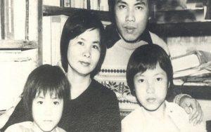 Xuân Qùynh bên gia đình
