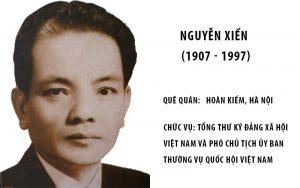 Giáo sư Nguyễn Xiển