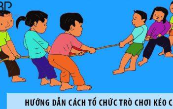 Hướng dẫn cách tổ chức trò chơi kéo co cho trẻ em