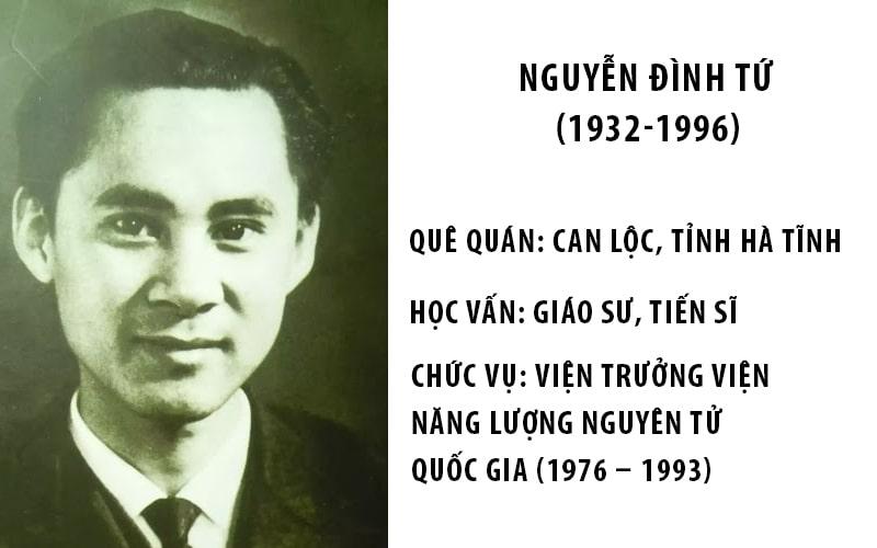 Vài nét về giáo sư Nguyễn Đình Tứ
