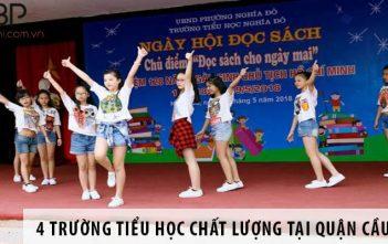 Top 4 trường tiểu học chất lượng cao tại quận Cầu Giấy