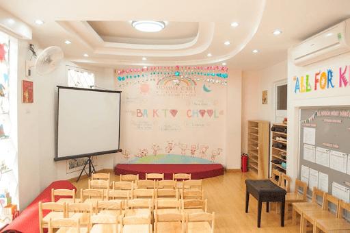 Cơ sở vật chất trường Mommy Care
