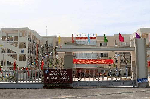 Trường tiểu học Thạch Bàn B - Long Biên, Hà Nội