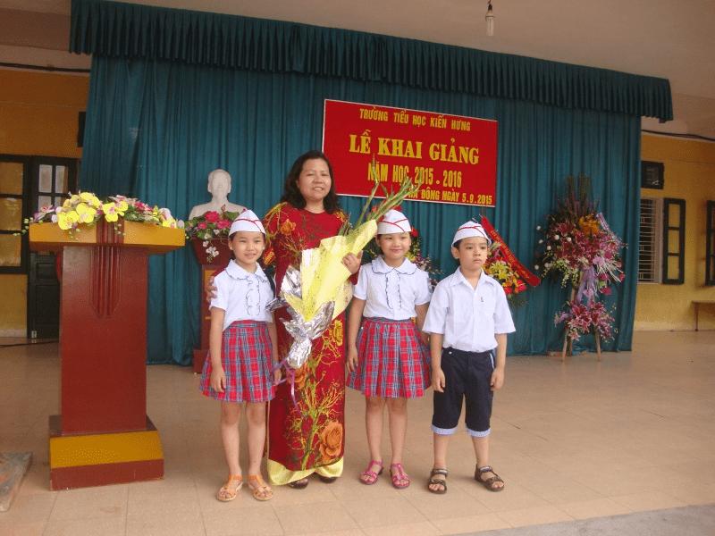 Trường tiểu học Kiến Hưng - Hà Đông, Hà Nội