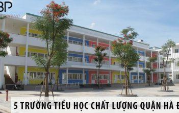 Top 5 trường tiểu học chất lượng quận Hà Đông