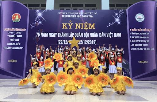 Trường tiểu học Đông Thái - Tây Hồ, Hà Nội