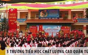Top 5 trường tiểu học chất lượng cao Quận Từ Liêm