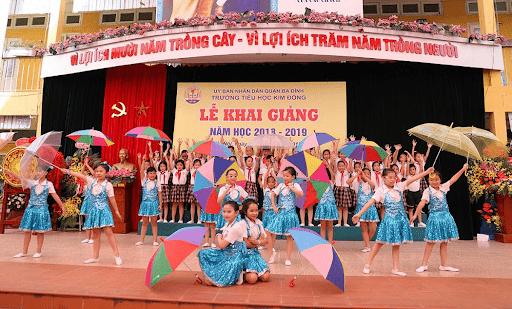 Trường tiểu học Kim Đồng - Ba Đình, Hà Nội