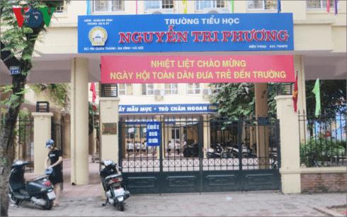 Trường tiểu học Nguyễn Tri Phương - Ba Đình, Hà Nội