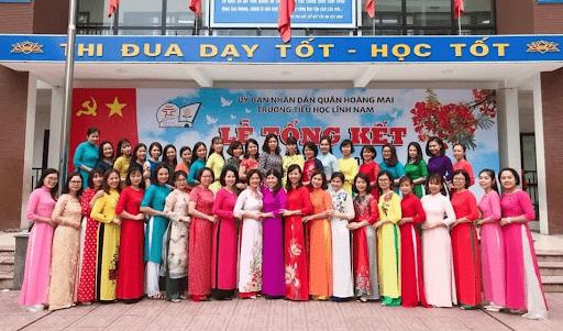 Trường tiểu học Lĩnh Nam - Hoàng Mai, Hà Nội