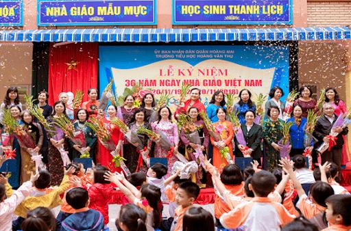 Trường tiểu học Hoàng Văn Thụ - Hoàng Mai, Hà Nội
