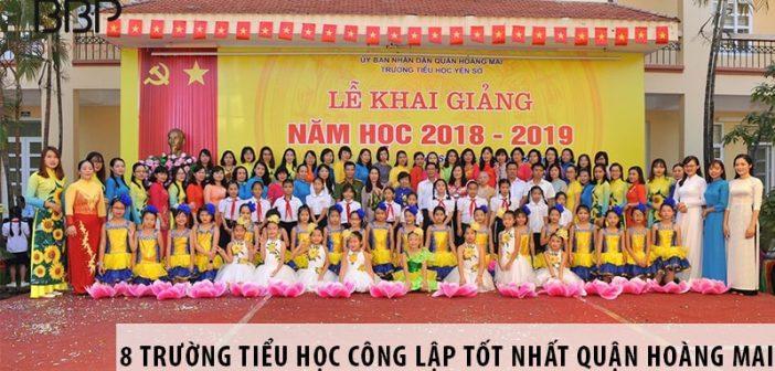 Top 8 trường tiểu học công lập tốt nhất Quận Hoàng Mai