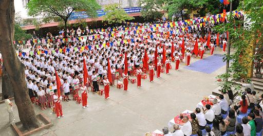 Lễ khai giảng năm học 2018-2019 của trường tiểu học Láng Thượng
