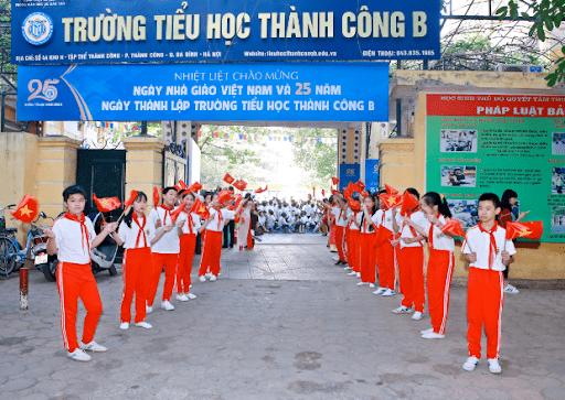 Trường tiểu học Thành Công B - Ba Đình, Hà Nội