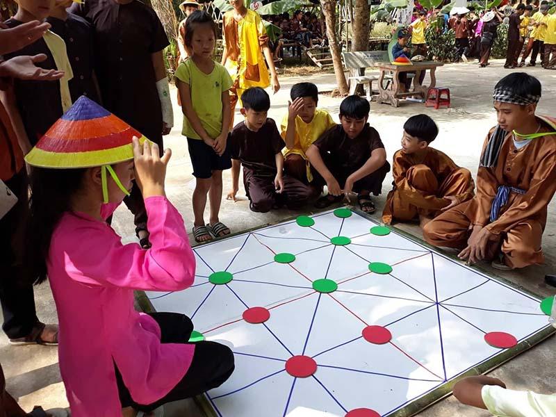 Cách chơi trò cờ gánh