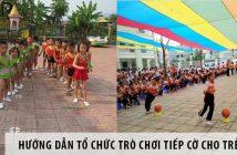 Hướng dẫn cách tổ chức trò chơi chạy tiếp cờ cho trẻ em