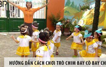 Hướng dẫn cách tổ chức trò chơi chim bay cò bay cho trẻ em