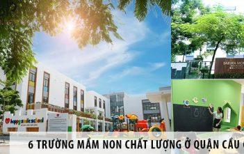 Top 6 trường mầm non chất lượng ở quận Cầu Giấy, Hà Nội