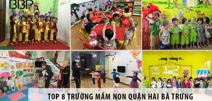 Top 8 trường mầm non quận Hai Bà Trưng học phí dưới 3 triệu