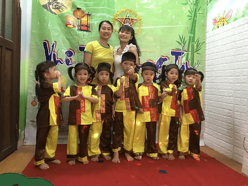 Trường mầm non Ngôi nhà trẻ thơ - Hai Bà Trưng, Hà Nội 1