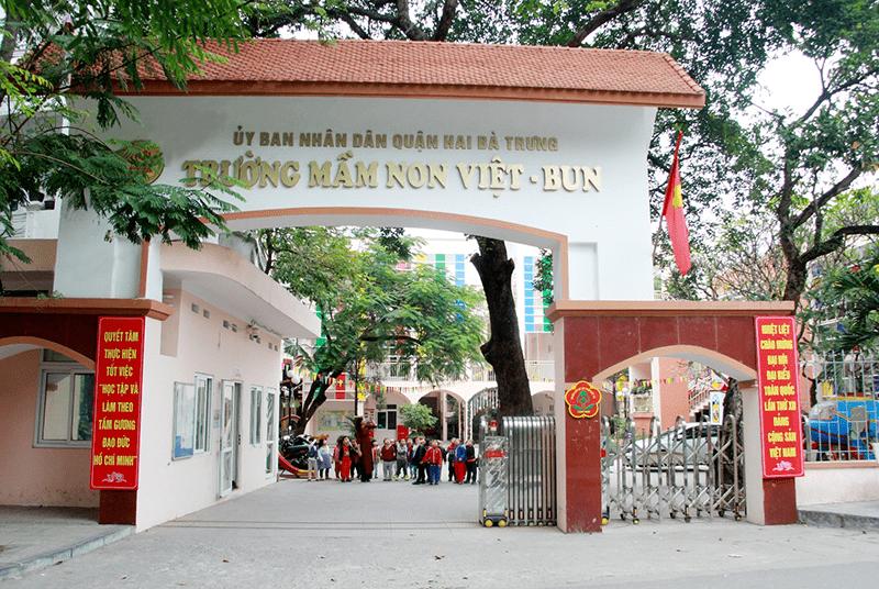 Trường mầm non Việt Bun - Hai Bà Trưng, Hà Nội 1