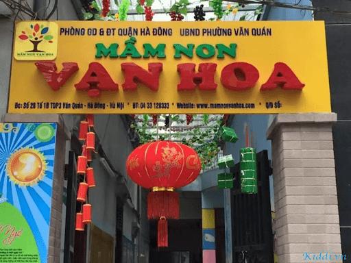 Trường mầm non Vạn Hoa - Hà Đông, Hà Nội