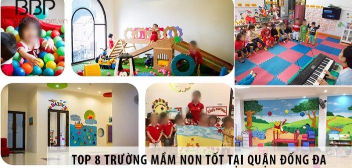 Top 8 trường mầm non tốt nhất tại quận Đống Đa - Hà Nội