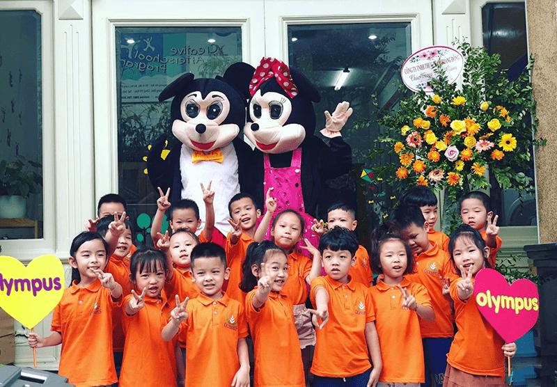 Trường mầm non Olympus - Hoàn Kiếm, Hà Nội