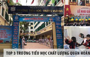 Top 3 trường tiểu học chất lượng tại quận Hoàn Kiếm - Hà Nội
