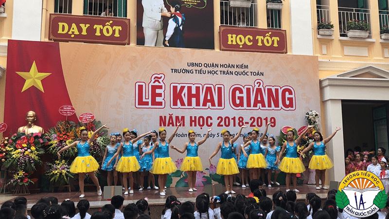 Trường Tiểu học Trần Quốc Toản - Hoàn Kiếm, Hà Nội