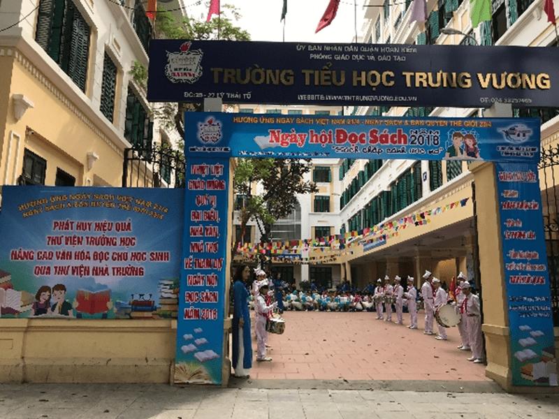Trường tiểu học Trưng Vương - Hoàn Kiếm, Hà Nội