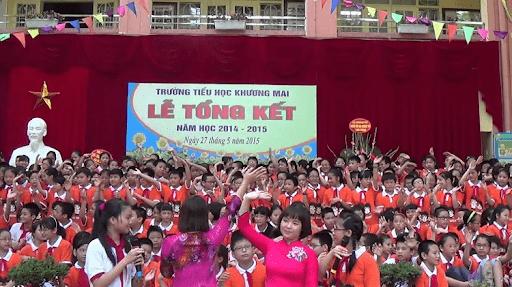 Trường tiểu học Khương Mai - Thanh Xuân, Hà Nội