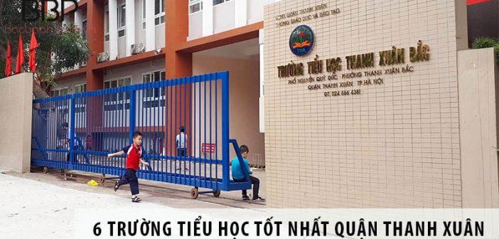 Top 6 trường tiểu học tốt nhất Quận Thanh Xuân