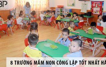 Top 8 trường mầm non công lập tốt nhất Hà Nội