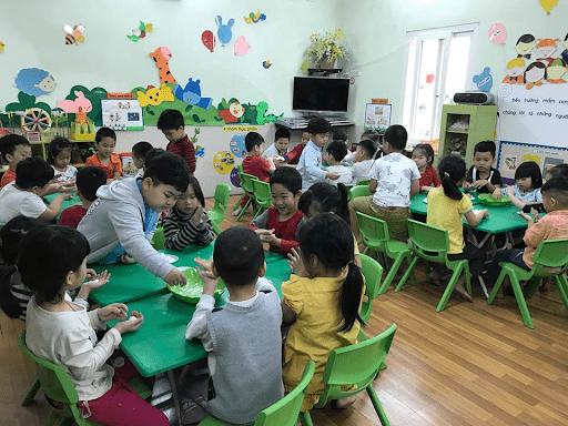 Trường mầm non Mê Linh - Hà Nội