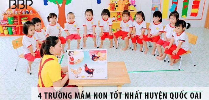 Top 4 trường mầm non tốt nhất huyện Quốc Oai