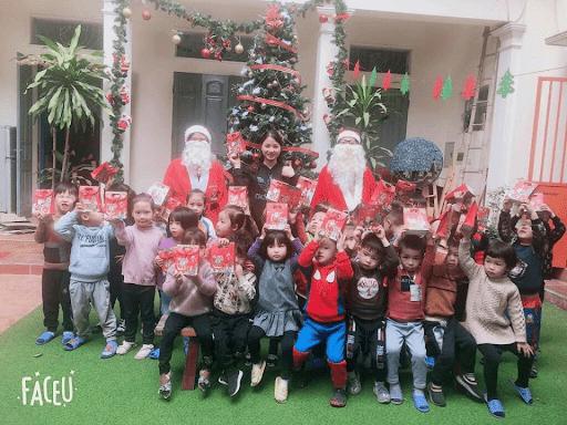 Lễ giáng sinh năm 2019 của trường mầm non tư thục Chocopie