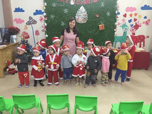 Học sinh trường mầm non Hoa Trạng Nguyên được tổ chức Lễ giáng sinh năm 2019