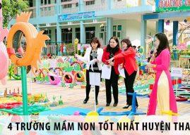 Top 4 trường mầm non tốt nhất tại huyện Thanh Oai, Hà Nội