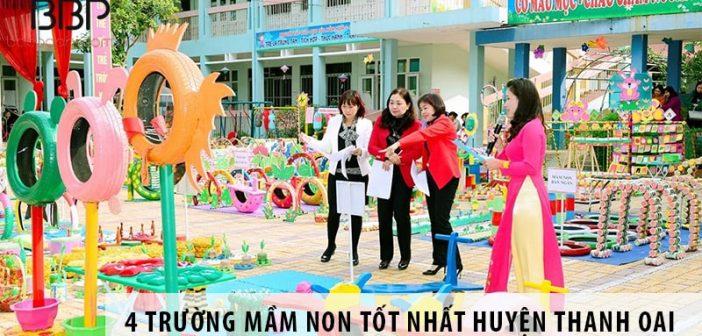 Top 4 trường mầm non tốt nhất huyện Thanh Oai