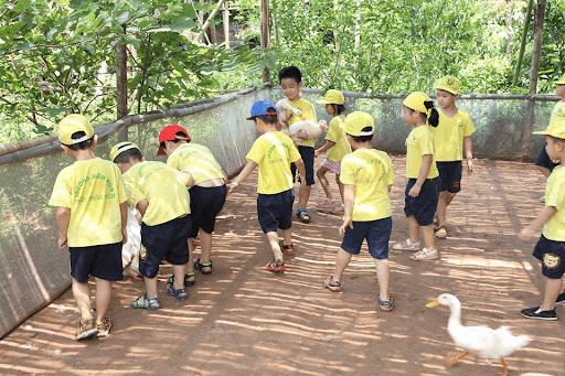 Buổi dã ngoại tại nông trang Bá Tân