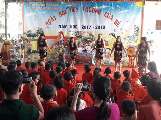 Trường mầm non Tân Phương - Ứng Hòa, Hà Nội